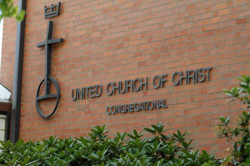 PMG PHOTO: WADE EVANSON - The United Church of Christ located at 2032 College Way in Forest Grove.