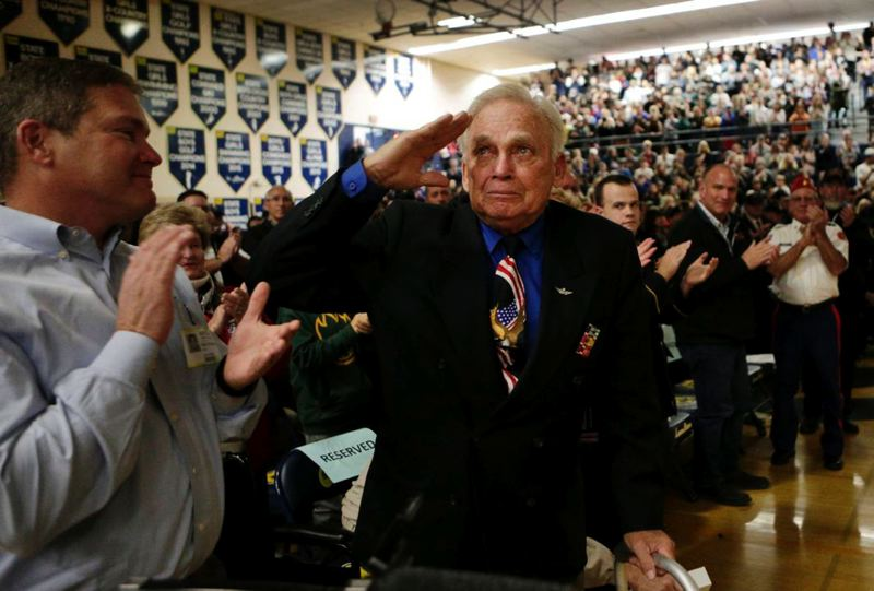COURTESY PHOTO: BEND BULLETIN - Retired Lt. Col. Dick Tobiason said he was disappointed by legislative action that stopped a propsal to rename U.S. Highway 30 from Astoria to the Idaho border to honor Oregon peacetime veterans.
