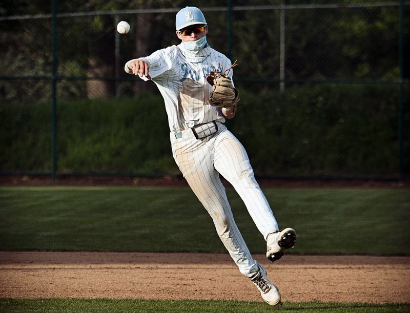 COURTESY PHOTO: TWITTER - Lakeridge's Cam Clayton (shown earlier this year) helped the North team sweep two straight games from the South in the Oregon All-Star Series at Goss Stadium in Corvallis June 19-20.