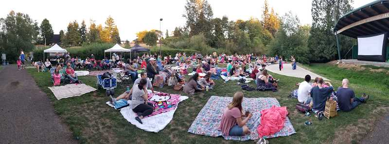 COURTESTY PHOTO: LEAH BURGESS - Movies in the Park kicks off for two nights this summer in August. The movies include The Croods 2: A New Age and Raya and the Last Dragon.