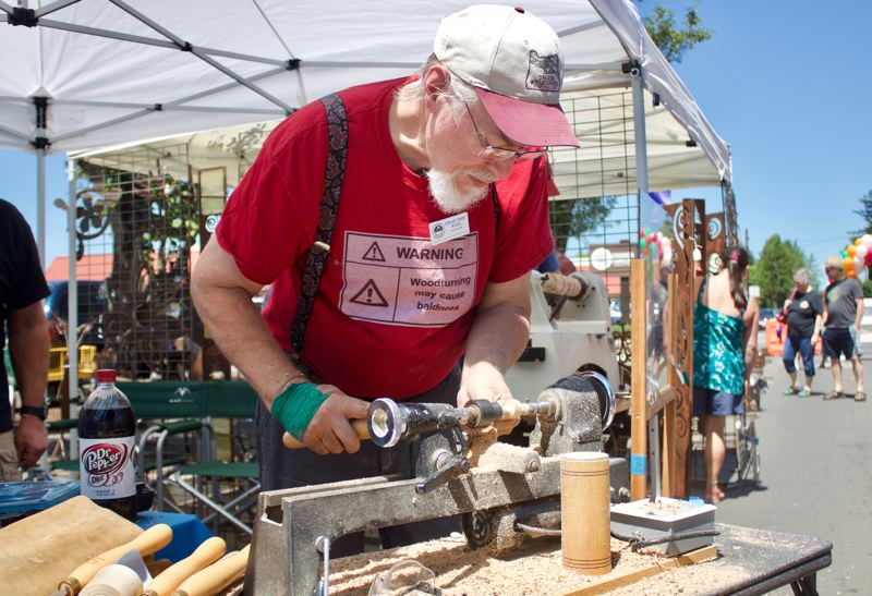 PMG FILE PHOTO - More than 100 Pacific Northwest artists are expected to bring their works to the Gresham Arts Festival Saturday, July 17.