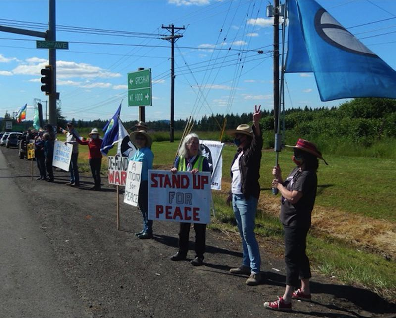 COURTESY PHOTO - The final Sandy Peace Vigil was held on May 28, 2021.