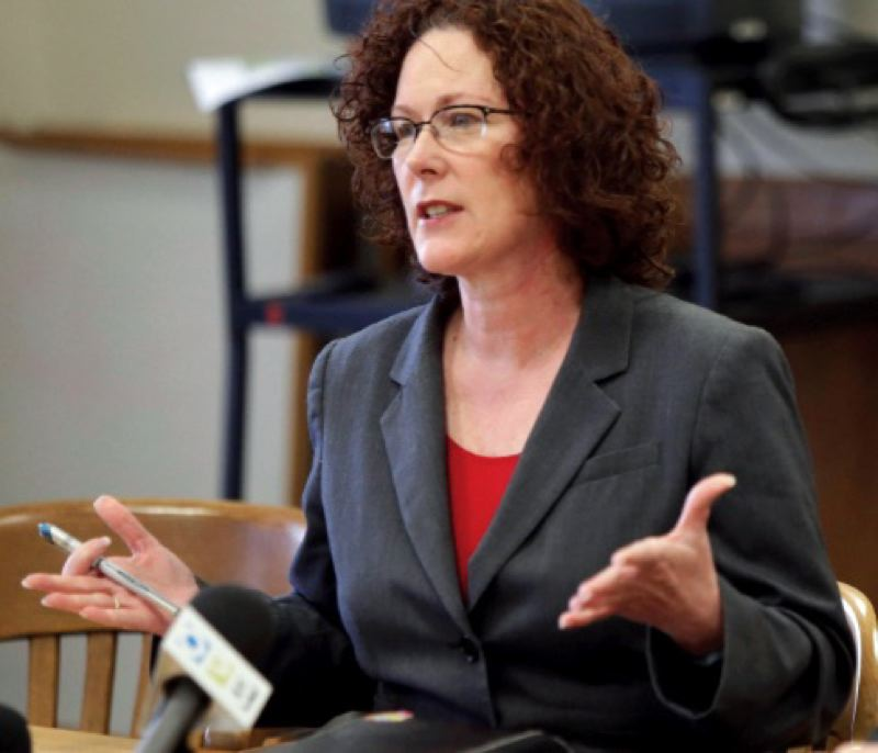 COURTESY PHOTO: OREGON PUBLIC BROADCASTING - State Labor Commissioner Val Hoyle doesn't plan to run for governor in 2022.