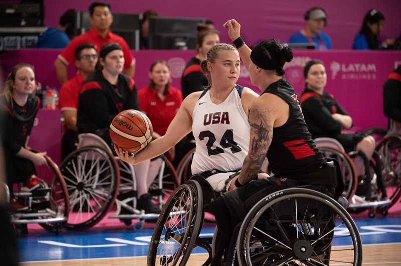 COURTESY PHOTO: MARC REIS - Hillsboro resident Lindsey Zurbrugg will represent the United States at the Paralympic Games in Tokyo later this summer.