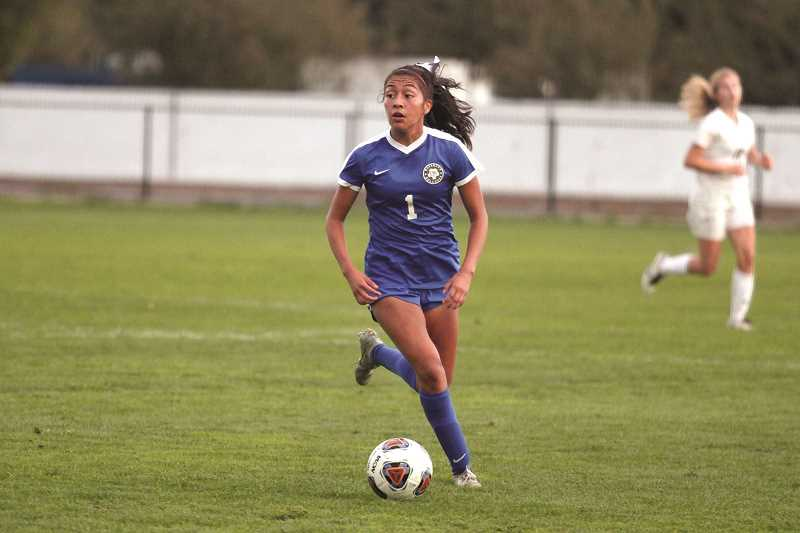 PMG FILE PHOTO: PHIL HAWKINS - Myranda Marquez was named first team All-State, Woodburn's only All-State nod for the season.