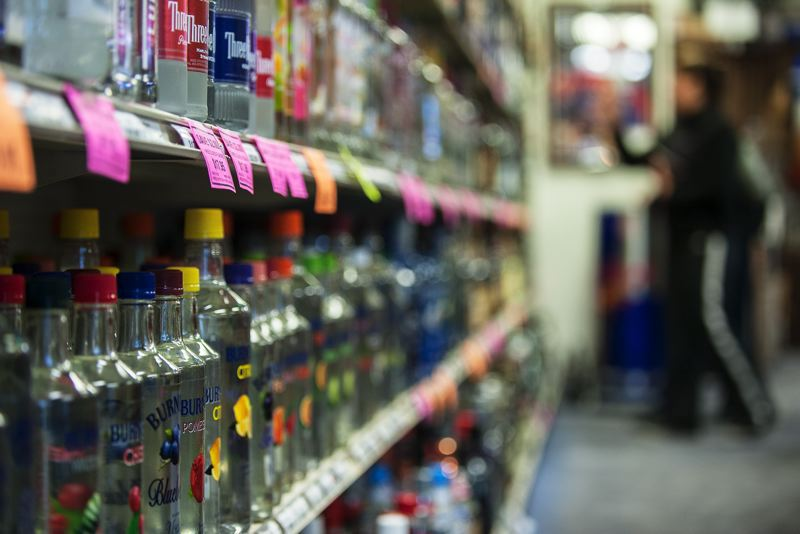 PMG FILE PHOTO - Oregon grocers are making a third effort to put a measure on the November 2022 ballot to allow grocery stores to sell hard liquor.