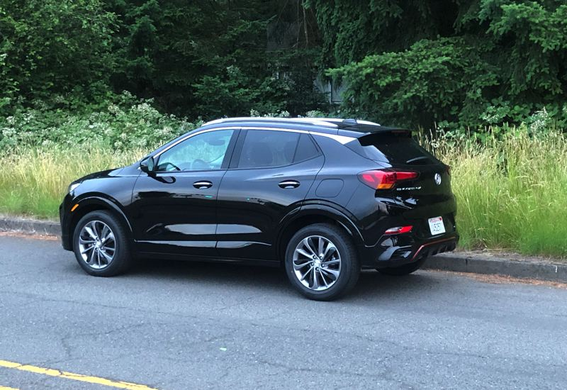 PMG PHOTO: JEFF ZURSCHMEIDE - Although only slightly larger on the outside than the originalsubcompact Buick Encore, the GX looks and feels more substantial.
