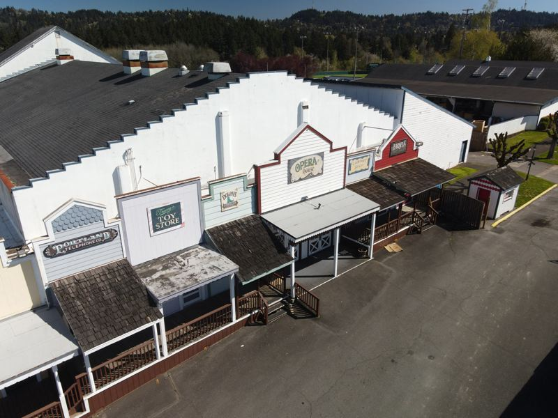 PMG FILE PHOTO - Drone photos of Alpenrose factory and recreating center