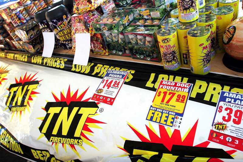 PMG FILE PHOTO - The Newberg City Council voted 4-3 in favor of banning the use of fireworks within the city limits until at least July 19.