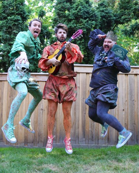 COURTESY PHOTO - The Experience Theatre Project's Shakespeare Festival returns to Beaverton July 16-18 at the Beaverton Main Library.