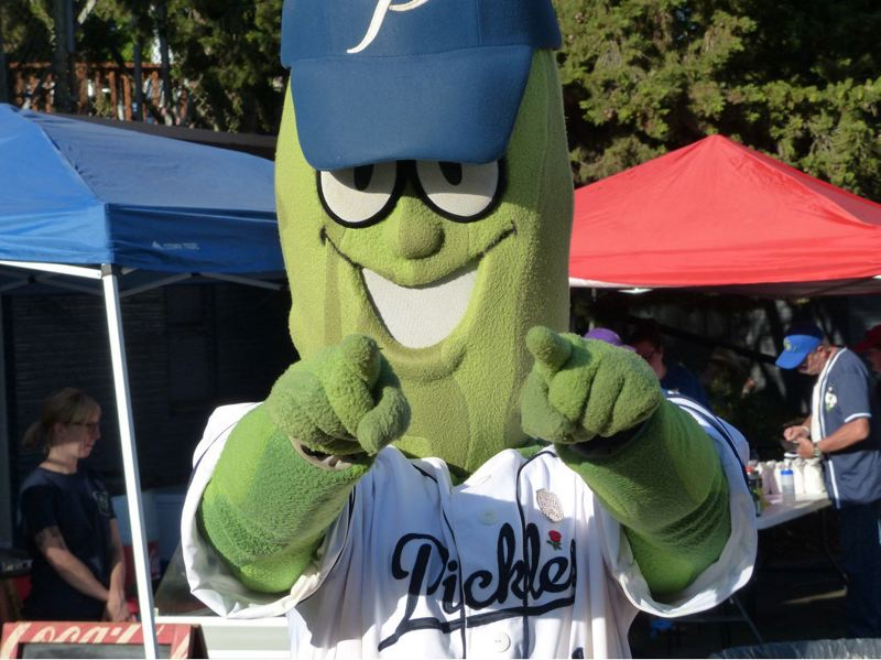 PMG FILE PHOTO - The Portland Pickles are playing a home series with Cowlitz this week.