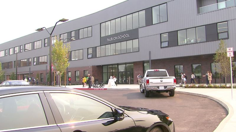 KOIN 6 NEWS IMAGE - Faubion Elementary School in Northeast Portland is shown here.