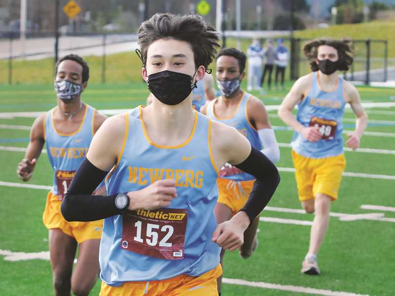 PMG FILE PHOTO - NHS grad Asher Tatsumi will compete in track and cross country at Southern Oregon University in Ashland.