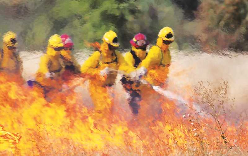 COURTESY PHOTO: TVF&R - In TVF&R's district, which includes a large swath of northwestern Oregon and the Newberg area, personnel responded to 53 heat exposure calls. Last year from June 25 through 29, there were zero such events.