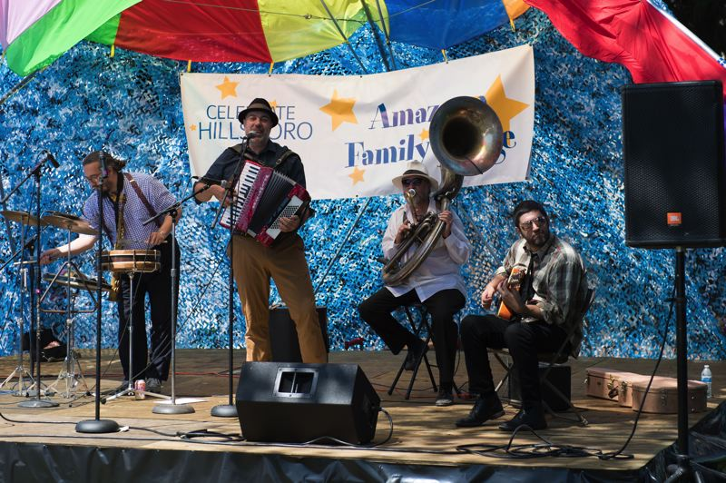 PMG FILE PHOTO: CHRISTOPHER OERTELL - Eric Stern and Friends performs at the Celebrate Hillsboro event in downtown Hillsboro in 2018.