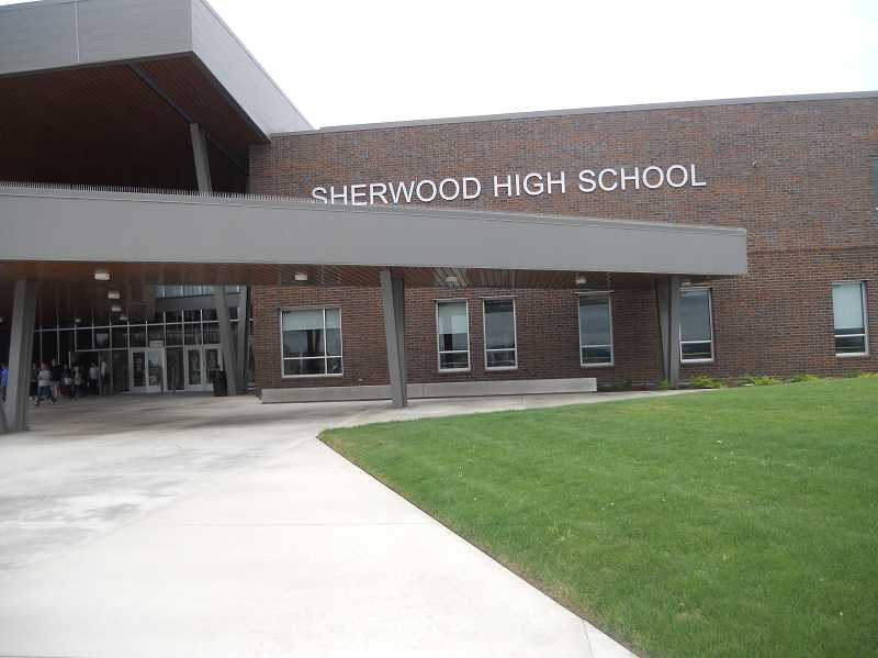 PMG PHOTO: SCOTT KEITH - Sherwood's new high school will finally open to students in September.