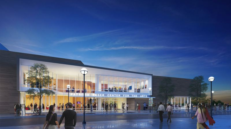 COURTESY PHOTO - The Patricia Reser Center for the Arts in Beaverton, due to open in spring 2022, has full financing moving forward.