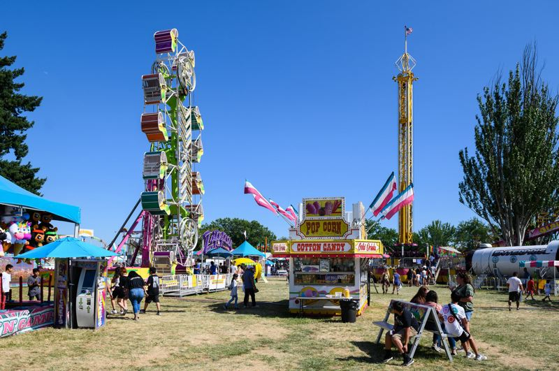 PMG FILE PHOTO - The carnival section of the Washington County Fair in 2019.