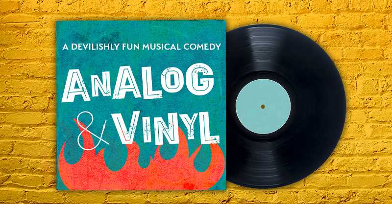 COURTESY PHOTO: BROADWAY ROSE THEATRE CO. - Analog and Vinyl will be performed beginning Thursday, July 8, and continuing through July 18. Streaming service also is available.