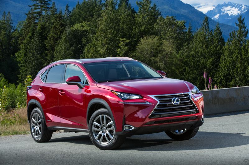 COURTESY LEXUS - The 2021 Lexus NX 300h is still a sharp looking and driving luxury compact crossover six years after it was first introduced.