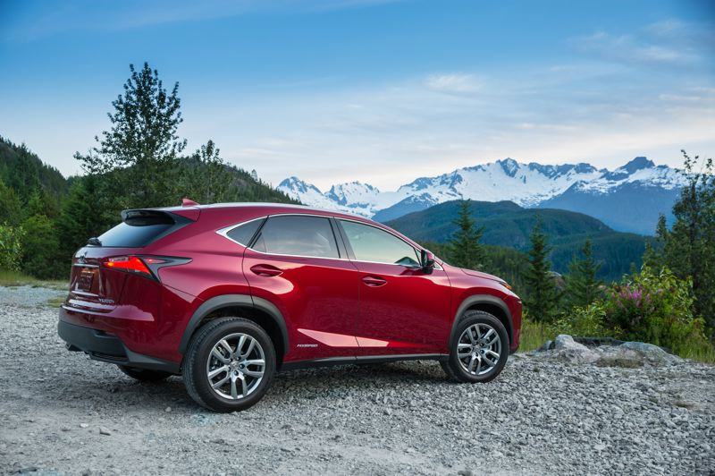COURTESY LEXUS - The 2021 Lexus NX 300h comes standard with all-wheel-drive thanks to the electric motor that powers the rear wheels.