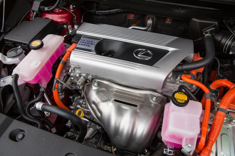 COURTESY LEXUS - The hybrid powertrain in the 2021 Lexus NX 300h delivers good power and excellent mileage.