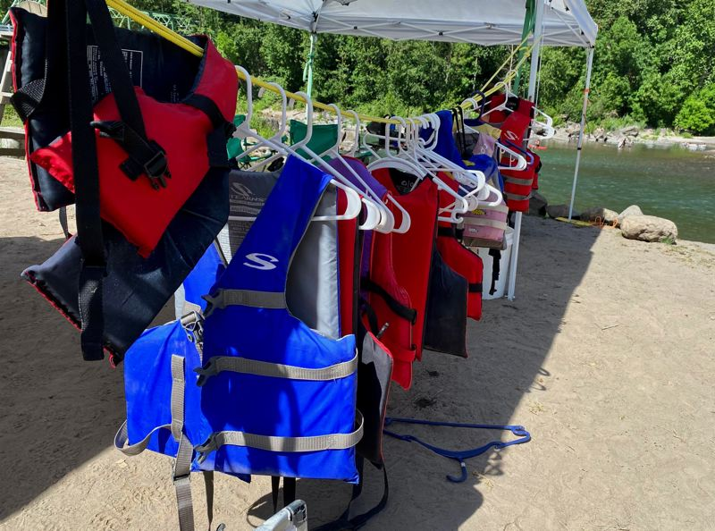 COURTESY PHOTO: MULTNOMAH COUNTY SHERIFFS OFFICE   - Officials recommend wearing a life jacket while swimming this summer.