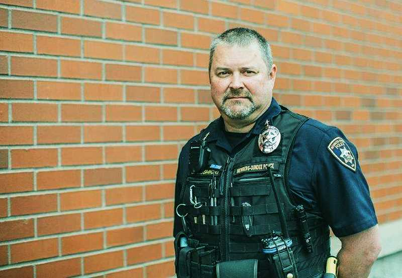 COURTESY PHOTO: NDPD - Jeff Kosmicki, a 24-year veteran of the department, was chosen last week as the city's new police chief by City Manager Dan Weinheimer.