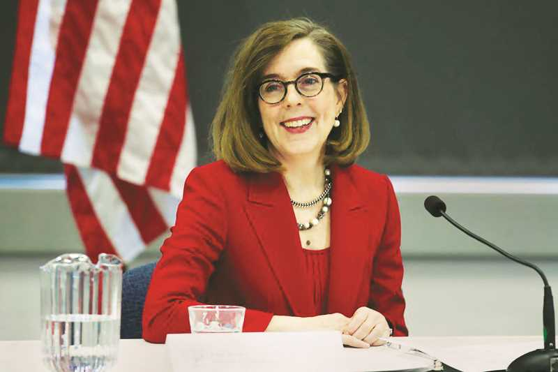 PMG FILE PHOTO - Oregon Gov. Kate Brown has been the brunt of unsuccessful recall efforts since first taking office in February 2015.