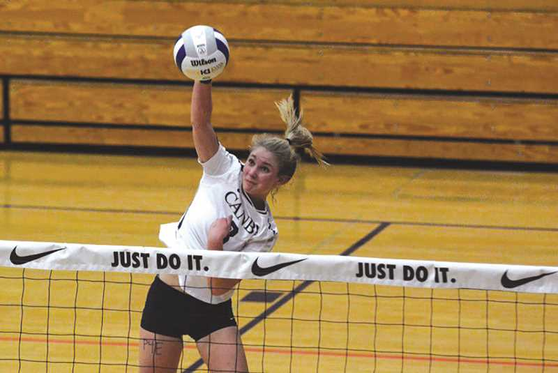 FILE PHOTO - Daley McClellan is once again named the Player of the Year by Three Rivers League volleyball coaches.
