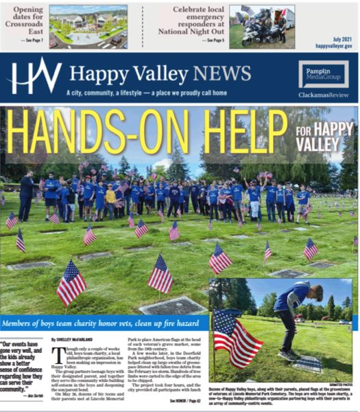 (Image is Clickable Link) Happy Valley News - July 2021