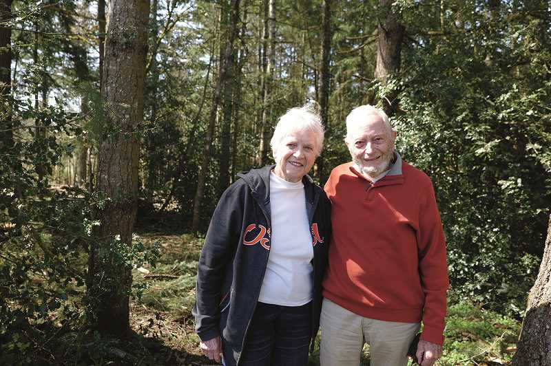 COURTESY PHOTO: CLACKAMAS COUNTY - Marilee and John Wetten donated their 12.86-acre parcel of farmland in perpetuity as a park.