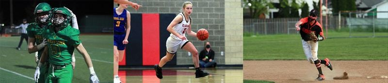 PMG FILE PHOTOS - The 2021 high school sports seasons were tumultuous, truncated and unique, but Oregon's athletes still managed to do great things with the opportunities given to them.