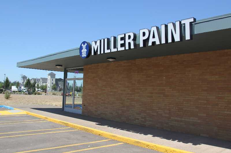 PMG PHOTO: JUSTIN MUCH - Miller Paint announced the opening of two low-footprint regional stores, including one in Woodburn.