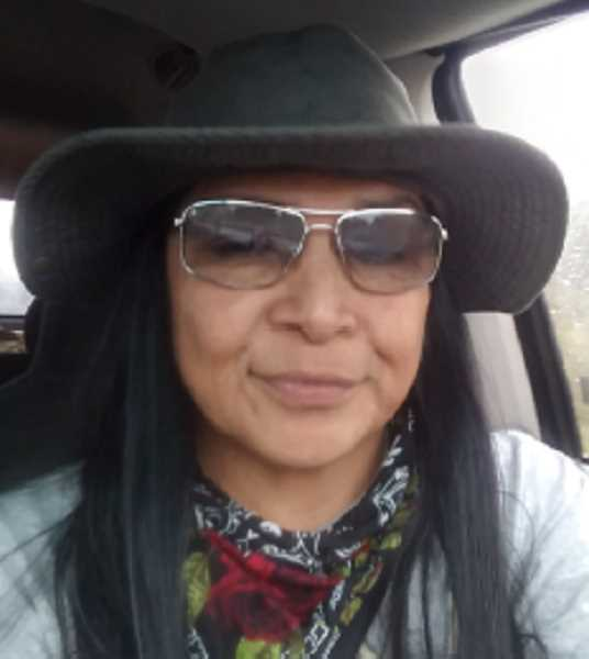OREGON HUMANITIES PHOTO - CarlaDean Caldera, of Madras, is a Culture Bearer and Advocate of the Northern Paiute. She received the Fields Artist Fellowships through Oregon Humanities.