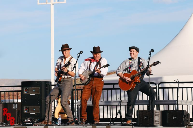 COURTESY PHOTO: THE ROCK BOTTOM BOYS - The Rock Bottom Boys perform in concert. They are among the musical acts that will play at the Washington County Fair.