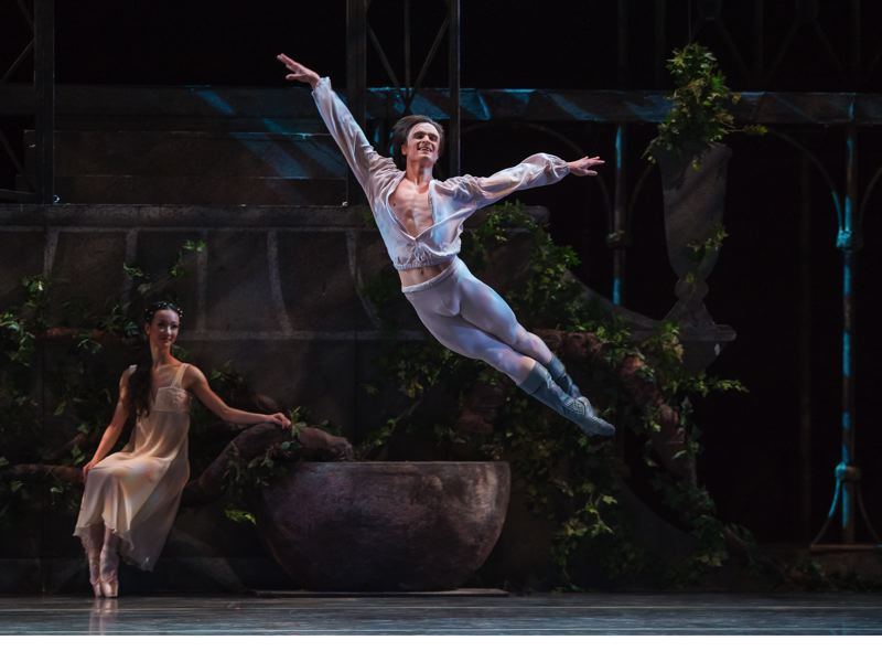 COURTESY PHOTO: OBT - A chronic back injured forced Peter Franc to retire as principal dancer at Oregon Ballet Theatre. He's playing a pivotal role for the company as interim artistic director.