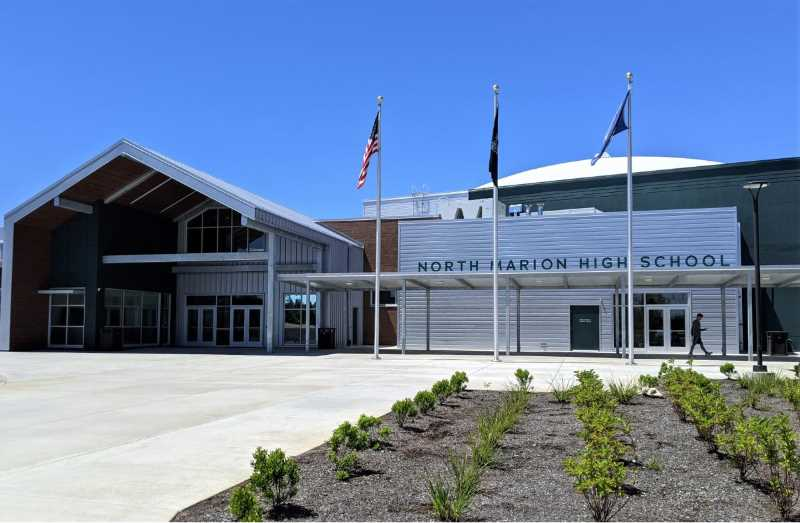 COURTESY PHOTO: JILLIAN DALEY - North Marion School District is holding a series of open houses so community memebers can see the new facilities, upgraded by money from a district bond.