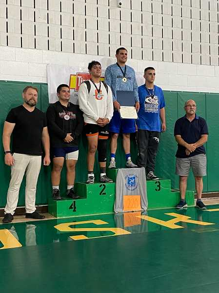 COURTESY PHOTO: DEWEY ENOS - Kennedy senior Camryn Biegel took fourth place at the 2A/1A state tournament.