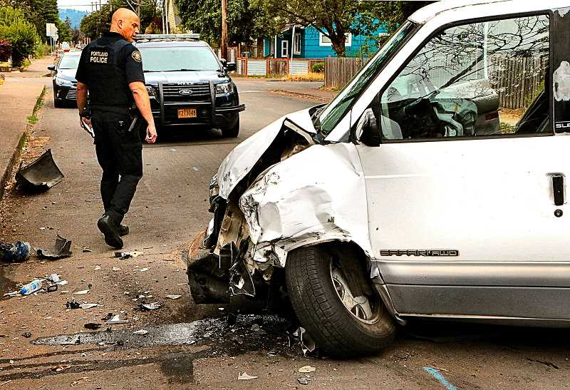 Accidents magnify into 'road rage' finale in Foster-Powell