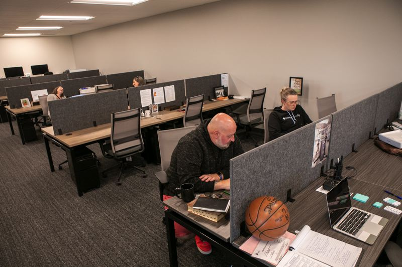 PMG PHOTO: JAIME VALDEZ - Offices are located in the upstairs of the new Grace Chapel building in Wilsonville.