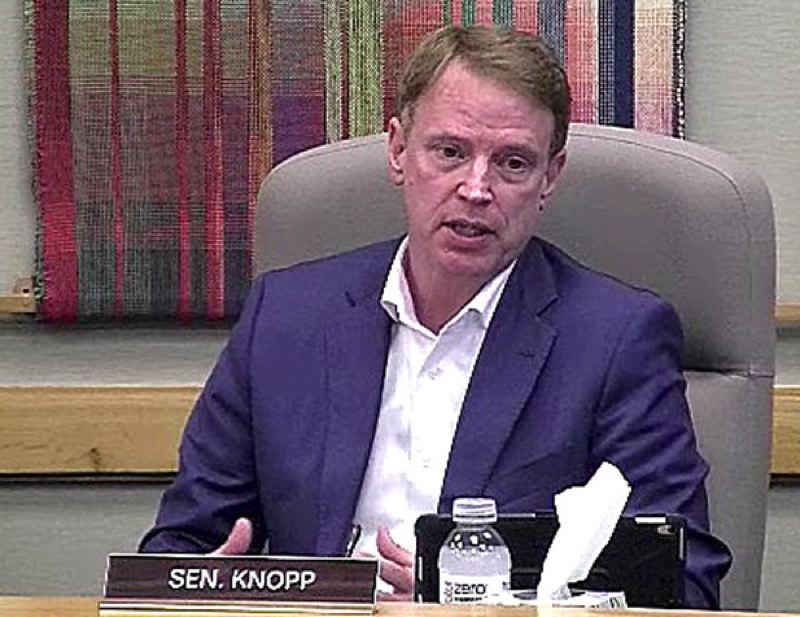 PMG FILE PHOTO - State. Sen. Tim Knopp is vice chairman of the Senate Redistricting Committee.
