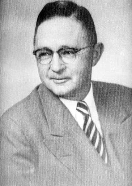 PHOTO COURTESY OF BOWMAN MUSEUM  -  Ward Rhoden became very active in civic affairs and local organizations.
