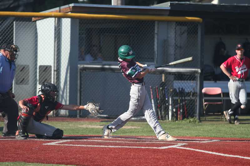 PMG PHOTO: TANNER RUSS - North Marion rolled through league competition heading into the final week of Legion baseball.