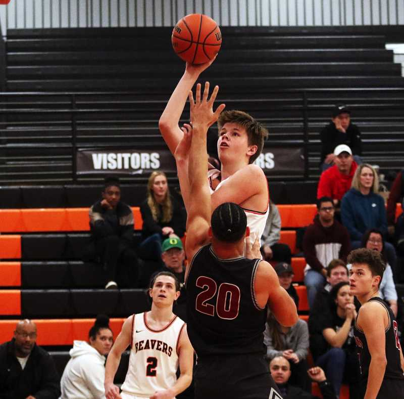PMG FILE PHOTO - Beaverton High School senior Dane Erikstrup was the Metro League Boys Player of the Year. Erikstrup led the Beavers to a 13-2 overall record in 2021.