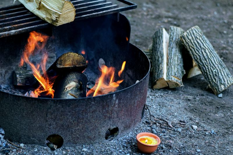 COURTESY PHOTO: TIM GOUW ON UNSPLASH - Campfires have been banned at many Oregon State Parks  because of hot and dry weather.
