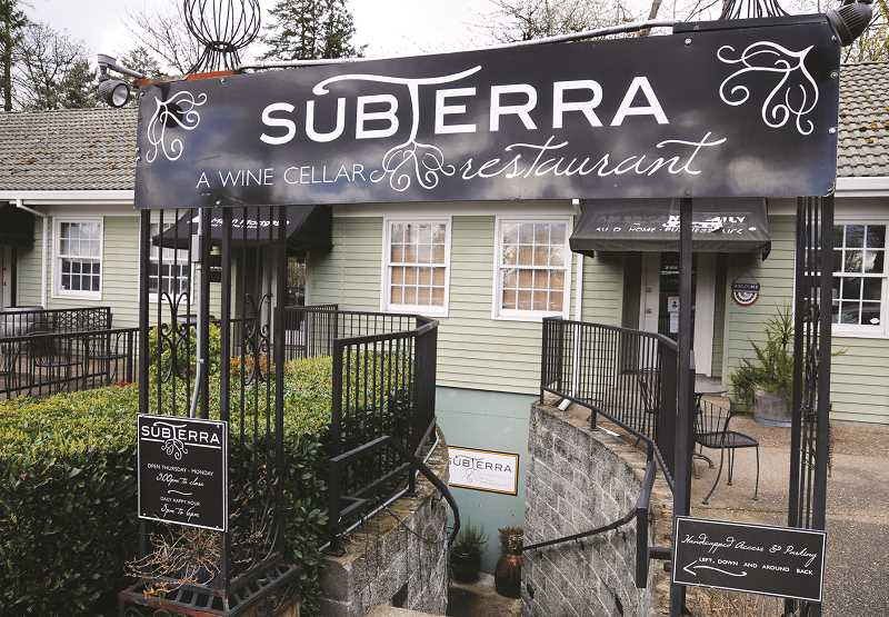 PMG FILE PHOTO - SubTerra restaurant has reopened at its location on Portland Road under new owners.
