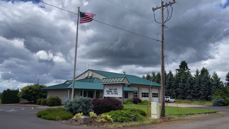 COURTESY PHOTO - Clackamas Fire recently hosted a town hall event at the Eagle Creek Fire Station.