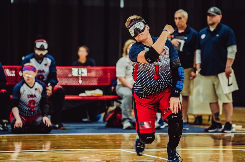 COURTESY PHOTO - This summer, Asya Miller will compete in her sixth Paralympic Games and fifth as a member of the goalball team on Team USA.