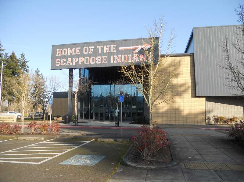 PMG PHOTO: SCOTT KEITH - The track surface at Scappoose High School will get an upgrade.